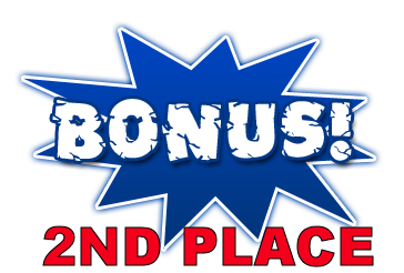 2nd Place Bonus Bids: Be the runner-up to the winner and you get the Bids Bonus stated